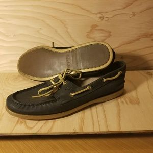 Sperry Top-Sider womens 10 black gold